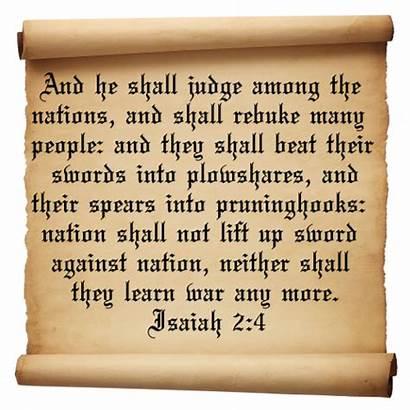 Bible War Quotes Isaiah Garden Quotesgram Gardens