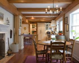 Home Interiors Gifts Inc Traditional Colonial Farmhouse Dining Room Bridgeport By Habitat Post Beam Inc