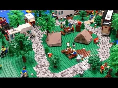 Lego Camping Youtube
