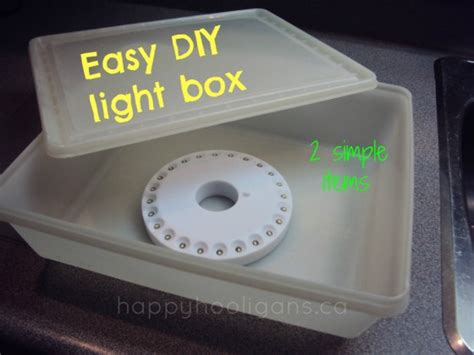 how to make a light box for pictures homemade light box for under 10 happy hooligans