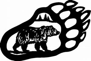 Tribal Bear Paw Drawings - ClipArt Best