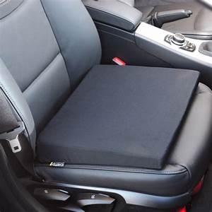Coussin De Voiture : coussin ergonomique pour si ge de voiture noir forme biseaut e vilacosy ~ Teatrodelosmanantiales.com Idées de Décoration