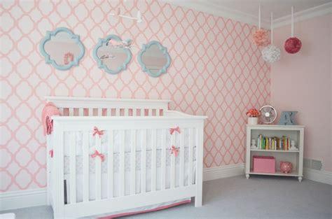 pink wallpaper  nursery gallery