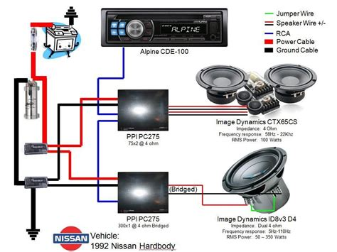 car audio speaker wiring diagram wiring diagram