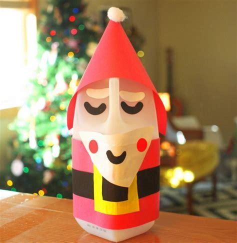 simple santa claus milk jug craft allfreechristmascrafts com