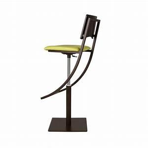 Pied De Bar Reglable : tabouret de bar r glable en m tal oph lie 4 pieds tables chaises et tabourets ~ Teatrodelosmanantiales.com Idées de Décoration