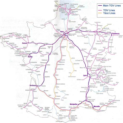 foto de Carte de France TGV Vacances Arts Guides Voyages