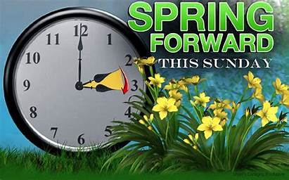Daylight Spring Forward Saving Clocks Sunday Forget
