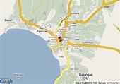 Map of Days Hotel Batangas, Batangas
