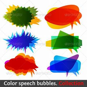 Free coloring pages of speech bubbles