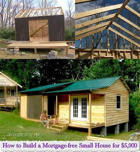 How To Build A Mortgagefree Small House For $5,900