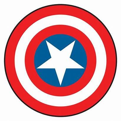 Shield Clip Clipartix Vector Captain America Cartoon