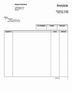 Blank sales and purchase invoice template example for for Buy invoice template