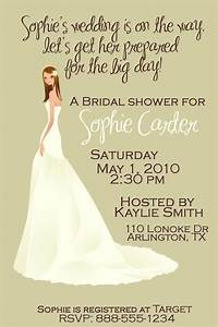 customized bridal wedding shower invitation by With wedding evening invitations funny