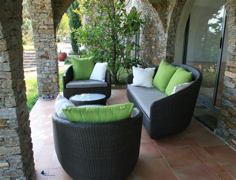 canapé jardin design deco exterieure design collection et deco exterieure