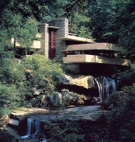 Fallingwater Falling Water Frank Lloyd Wright Frank
