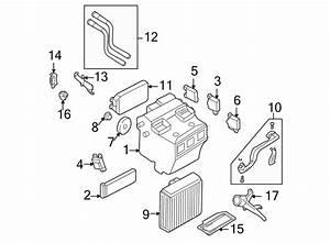 1999 Audi A6 A  C Refrigerant Line Grommet  Drain  Small  W