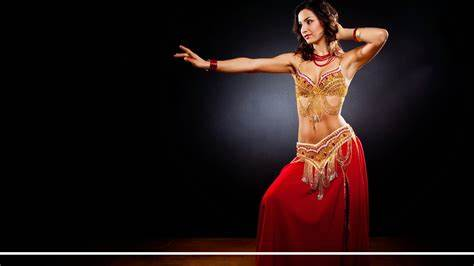 Sultry Arab Arabic Dance Belly Living Room Egyptian