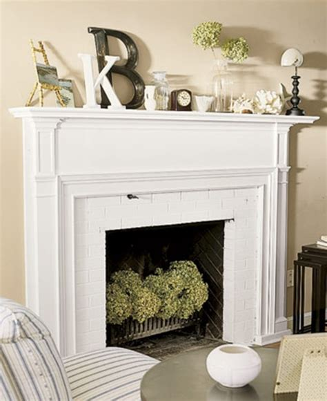 Decorate Non Working Fireplace  Design Decoration