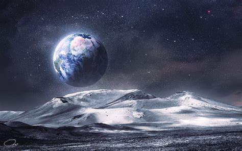 The View Earth From Moon Wallpapers Images