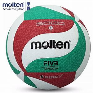 Molten Volleyball Ball PU Leather Official Size 5 Molten ...