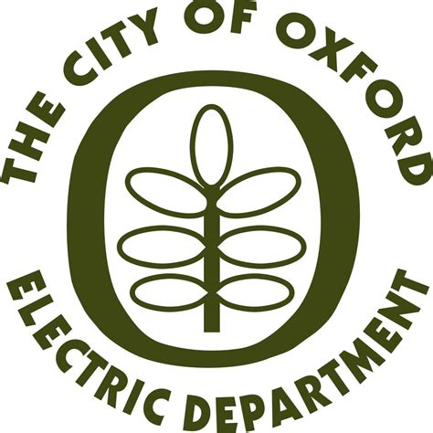 oxford electric department announces planned power outage