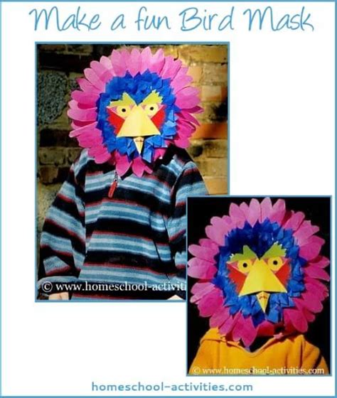 craft activities  kids fun animal masks