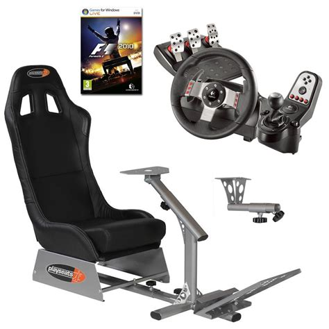 siege g27 playseats evo seat slider gearshift holder volant