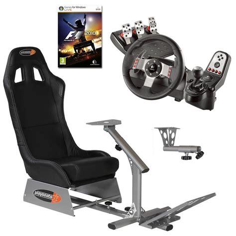 siege volant pc playseats evo seat slider gearshift holder volant