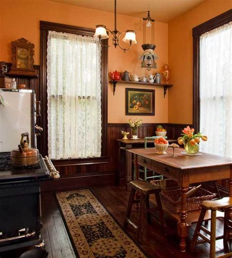 selecting curtains   period kitchen restoration