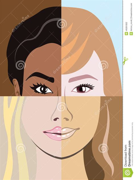 racial race vector diversity stock vector illustration of 49281002