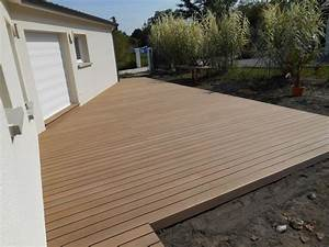 Prix Terrasse Bois : terrasse bois composite prix prix d 39 une terrasse ~ Edinachiropracticcenter.com Idées de Décoration