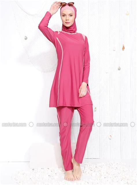 modanisa coral swimsuit  modest  hijabi workout