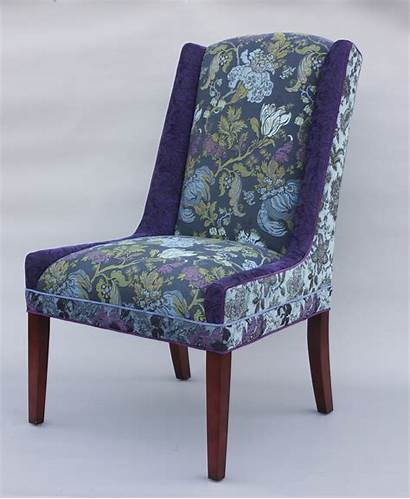 Chair Upholstered Windham Mary Lynn Shea Lavender