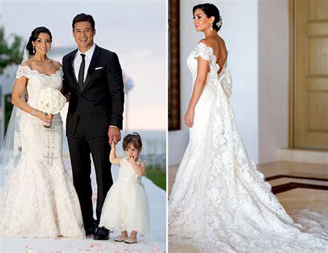 top  celebrity wedding dresses   preowned wedding