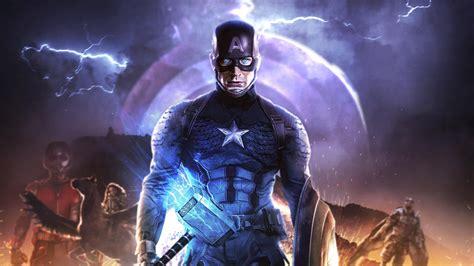 3d Wallpaper Endgame by 1920x1080 4k Captain America In Endgame Laptop