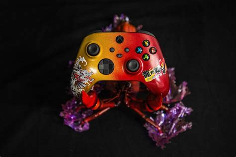 Xbox Japan Shows Off Yakuza Themed Controller Thats Held