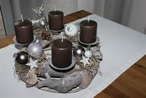 Adventskranz Metall Dekorieren : nat rlich dekorieren im advent und zu weihnachten ~ Orissabook.com Haus und Dekorationen