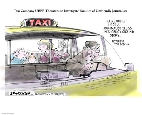 The Rideshare Editorial Cartoons