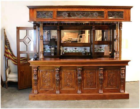 antique pub for crest glass canopy home bar pub antique 4126