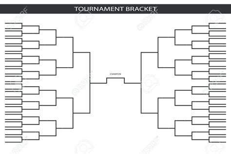 Tournament Bracket Template Playoff Brackets Template