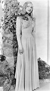 Donna Reed. 1940s glamorous evening wear, evening dress ...