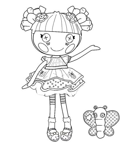 lalaloopsy coloring pages getcoloringpagescom