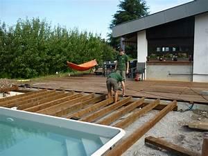 paysagiste evian les bains paysagiste haute savoie 74 With amenagement tour de piscine 6 amenagement terrasse amenagement de cours plage de