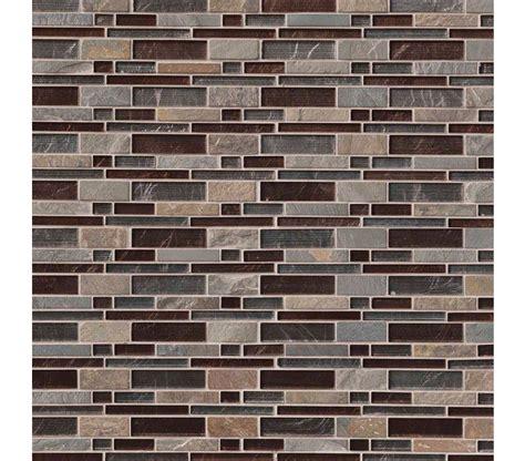 mosaic glass tile urbano blend interlocking mesh mounted glass blend
