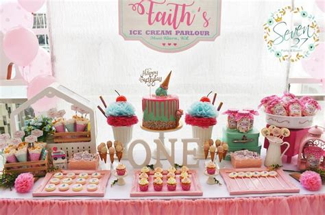 pailyn s bash girly party ideas dessert table from a girly birthday