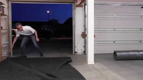 drymate garage floor mat video review garagefloormats