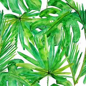 tropical leaves vector OR seamless OR repeating - Google ...