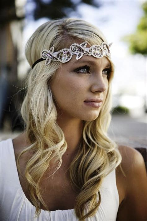 Wedding Hairstyles With Headband   Elle Hairstyles