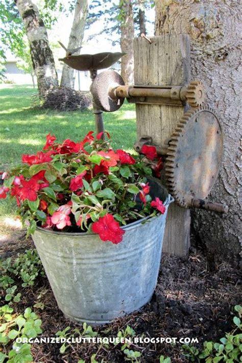 Best Images About Rustic Garden Decor Pinterest